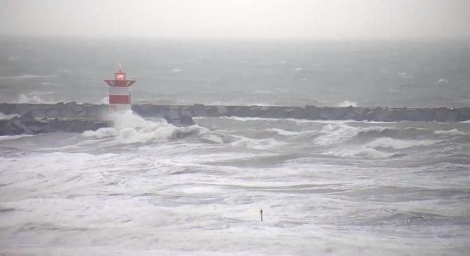 Het strandweer voor dinsdag 10 december