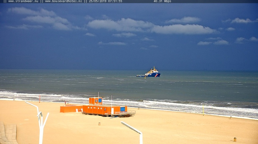 Het strandweer voor het laatste weekend van mei