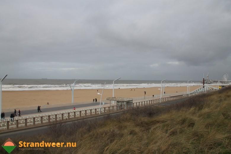 Het strandweer voor tweede weekend van januari