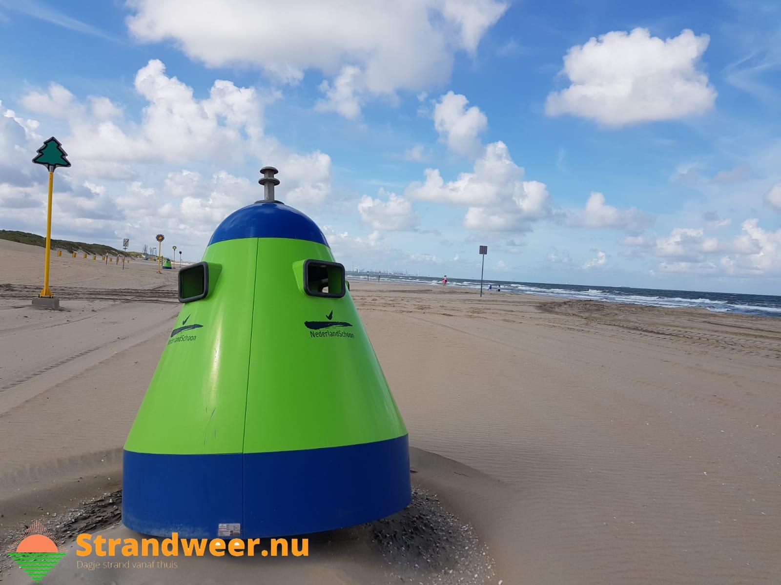 Het strandweer voor donderdag 5 december