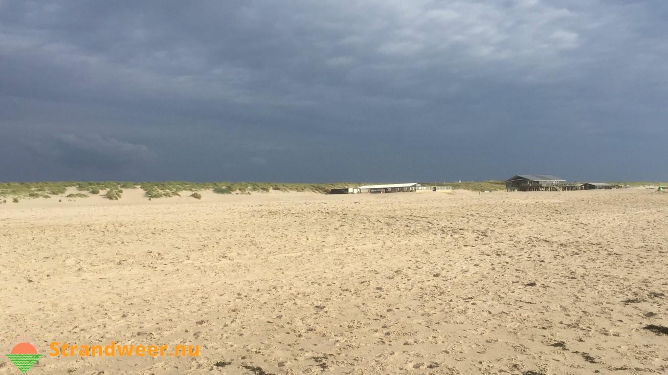 Het strandweer voor tweede Pinksterdag