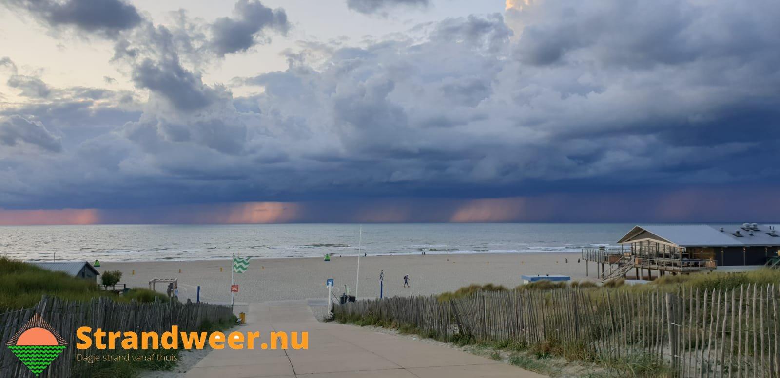Het strandweer voor maandag 2 september