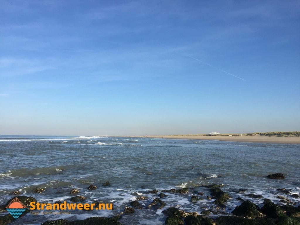 Het strandweer voor donderdag 21 november