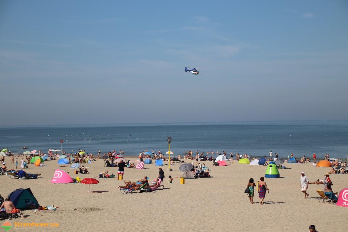 Het strandweer voor zondag 25 augustus