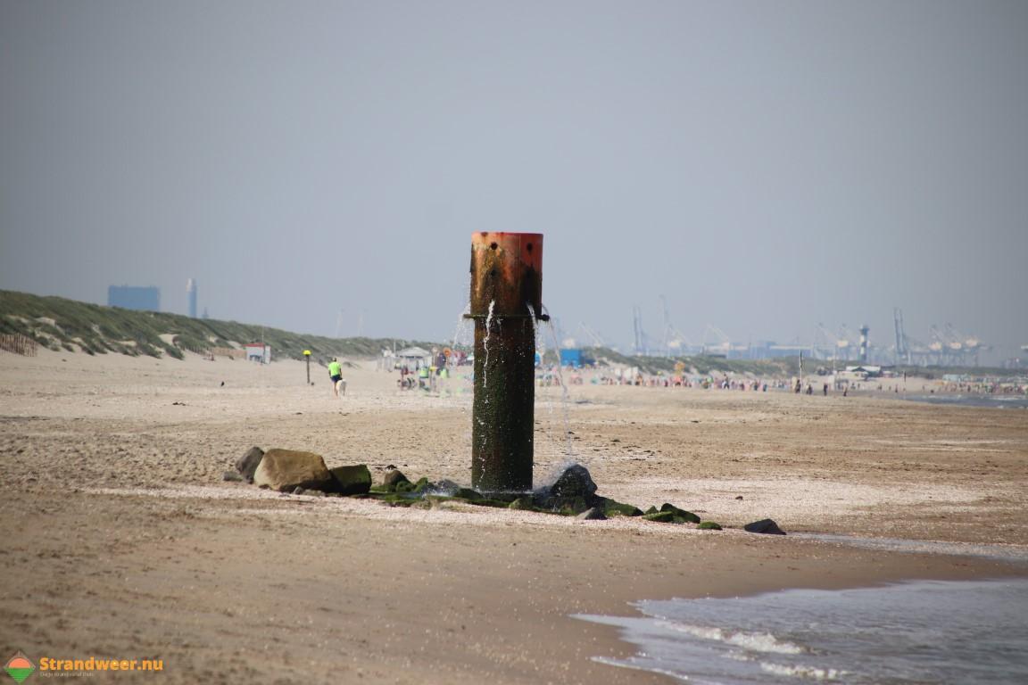 Het strandweer voor maandag 15 juli
