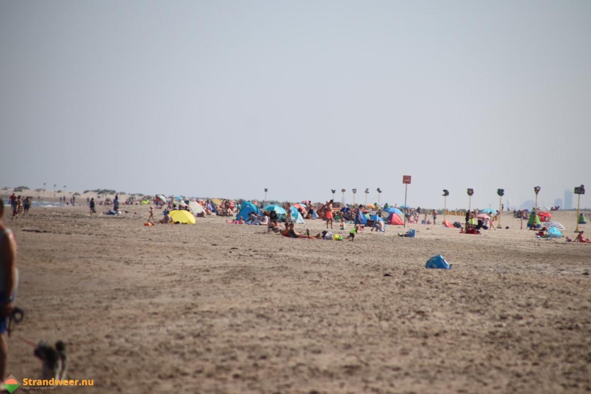 Zomers strandweer dit weekend