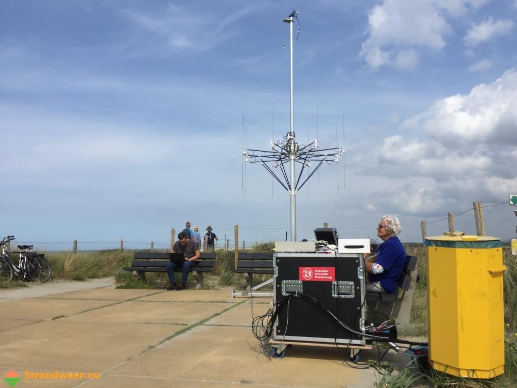 Met radar op zoek naar smokkelvluchten langs de kust