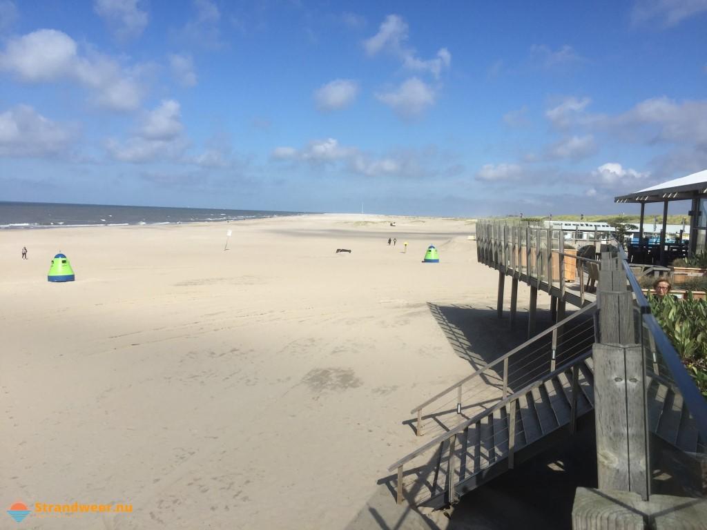 Het strandweer voor 3e weekend van september