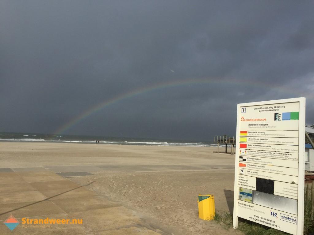 Het strandweer voor 3e weekend van oktober