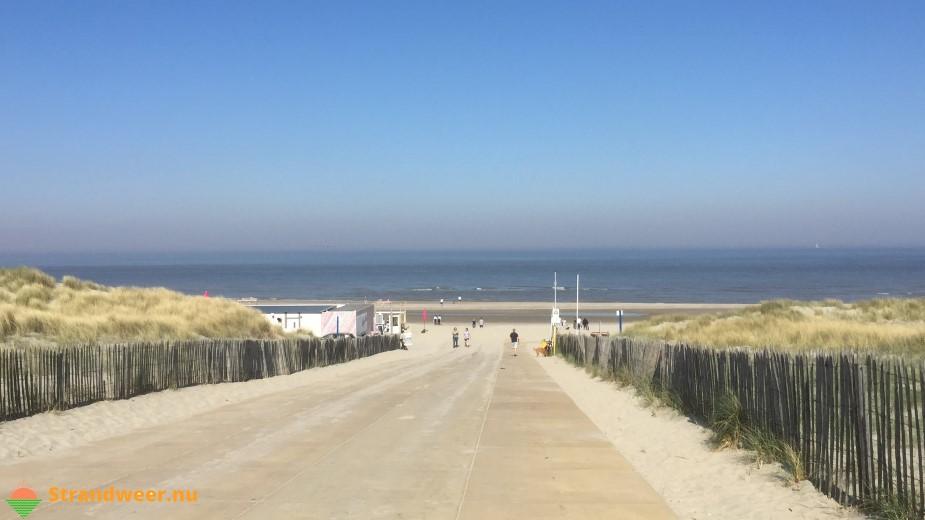 Het strandweer voor de laatste week van april