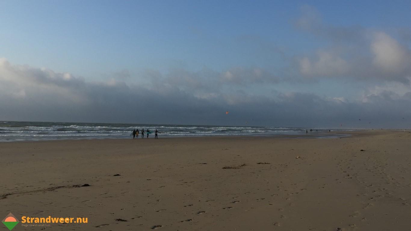 Het strandweer voor het 1e weekend van augustus