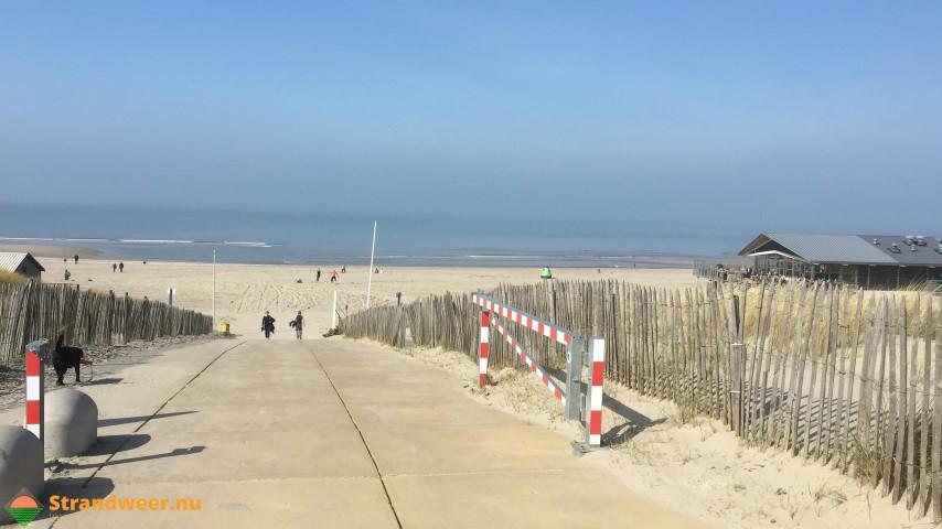 Het strandweer voor het 1e lenteweekend
