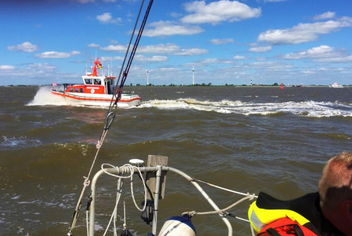 Reddingbootdag abrupt ten einde vanwege zoekactie