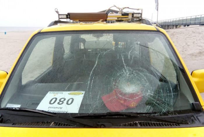 KNRM opnieuw mikpunt van vandalisme