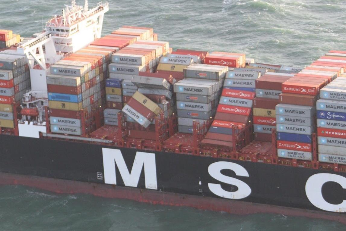 MSC gaat opruimingskosten waddenzee volledig betalen