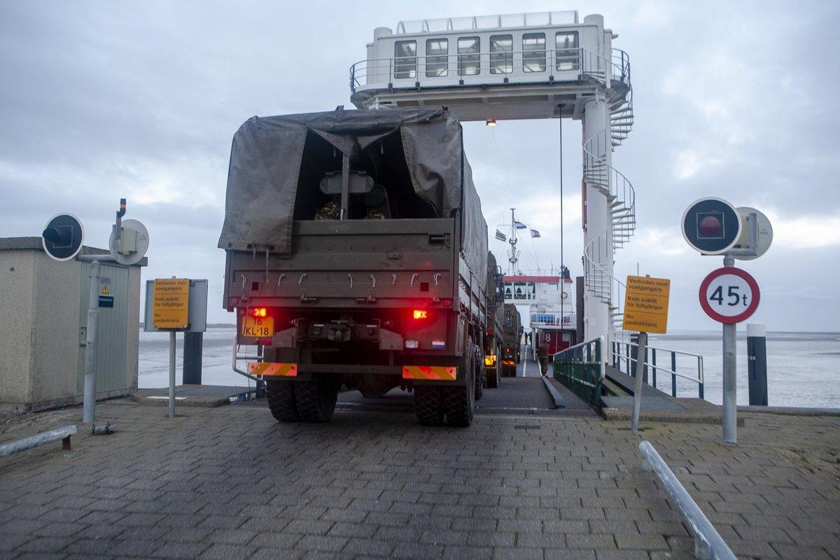 Schiermonnikoog bedankt militairen voor hun inzet