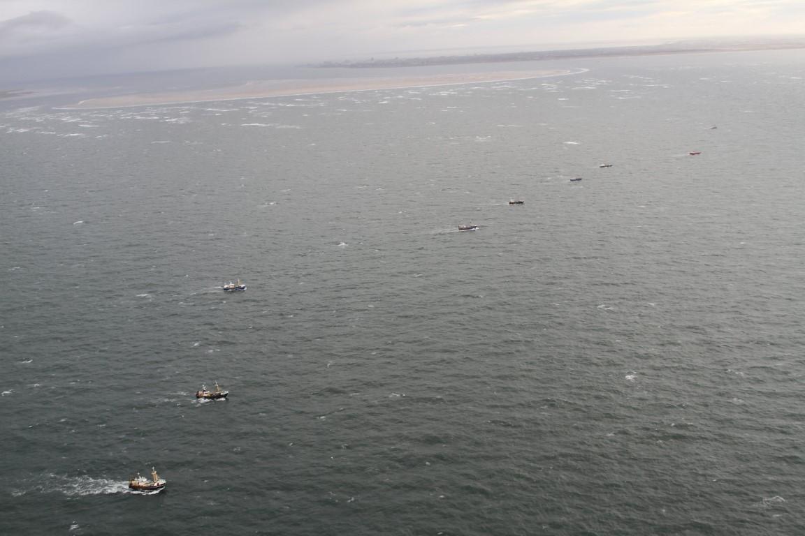 Toename scheepsongevallen op de Noordzee in 2019