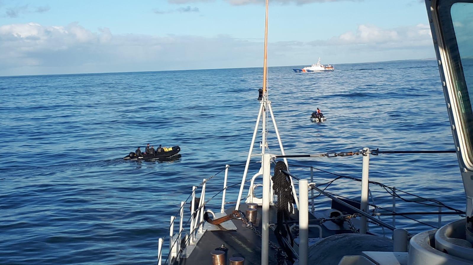 Vermiste vissers door marineduikers gevonden