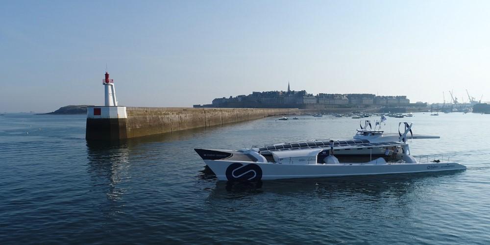 Duurzaam schip bezoekt Werelderfgoed Waddenzee
