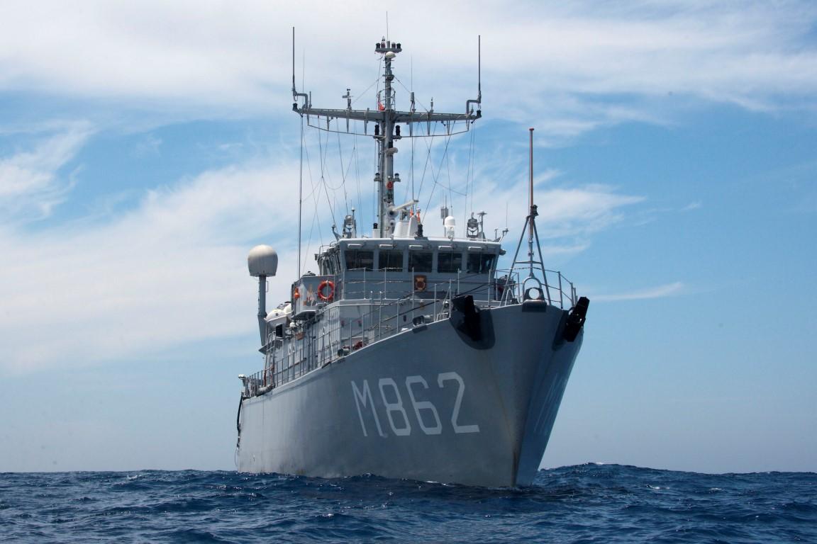 Zeemijnen geruimd bij Waddeneilanden