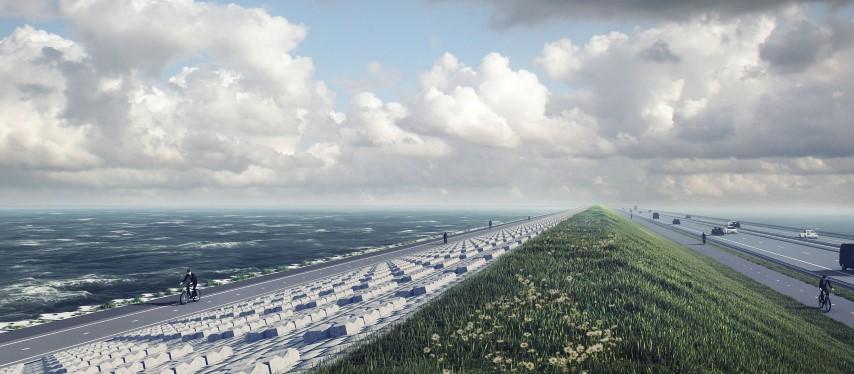 Versterking Afsluitdijk van start