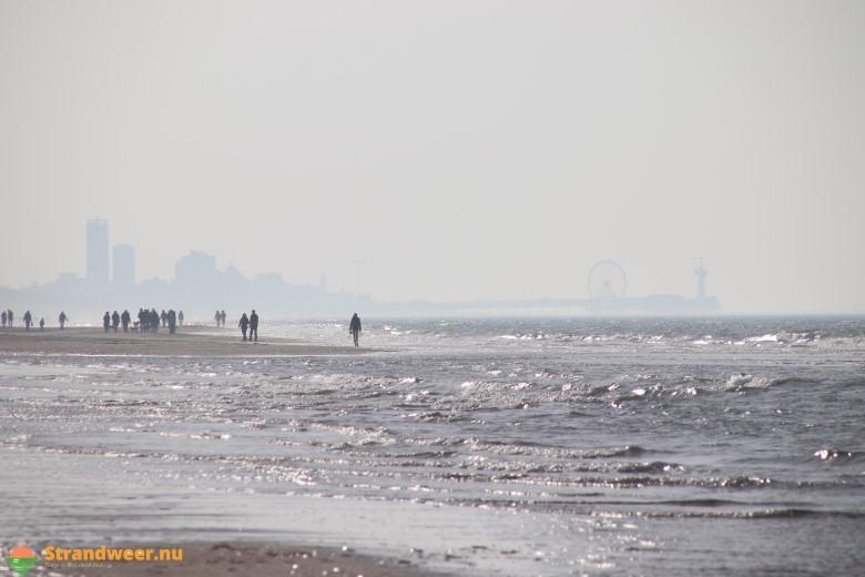 Het strandweer voor maandag 25 november