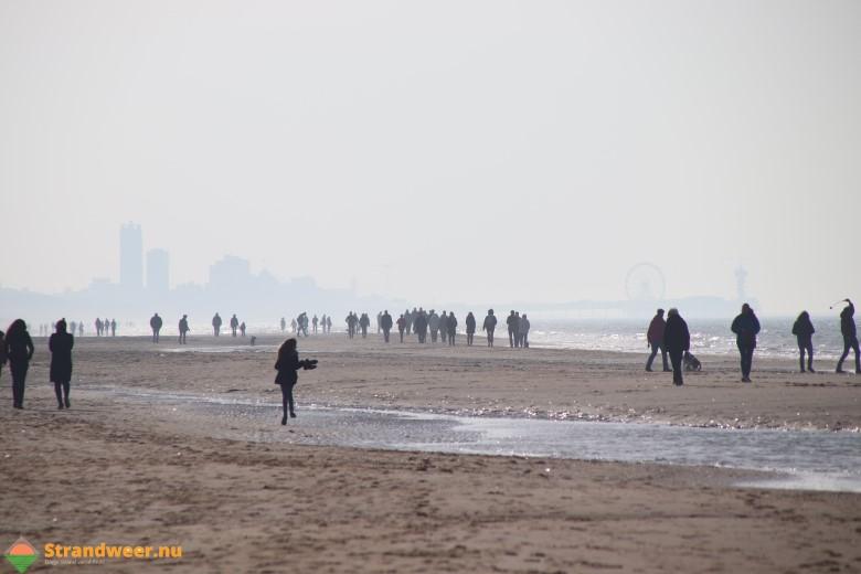 Het strandweer voor 3e werkweek februari