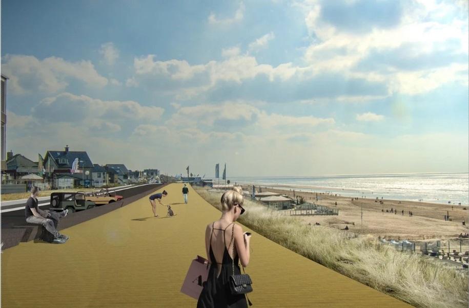 Zandvoort boulevard gaat op de schop