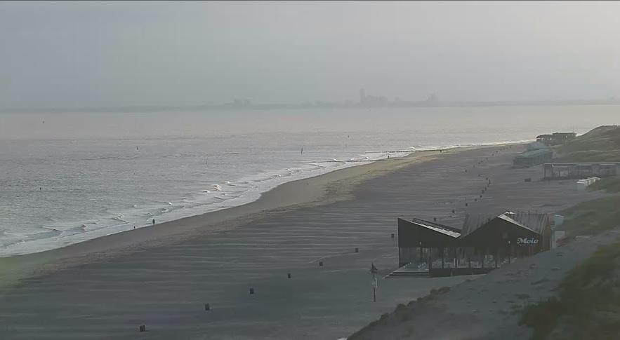 Het strandweer voor woensdag 4 september
