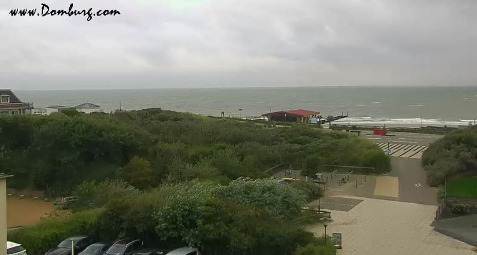Het strandweer voor donderdag 15 augustus
