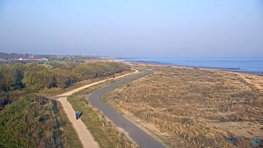 Mooi strandweer voor zaterdag 20 april