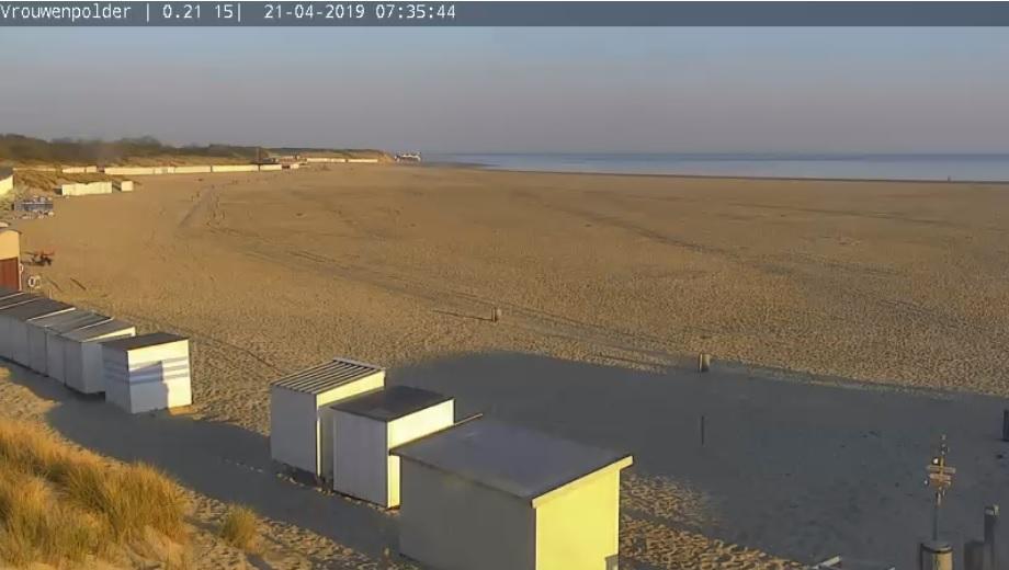 Prima strandweer voor eerste paasdag