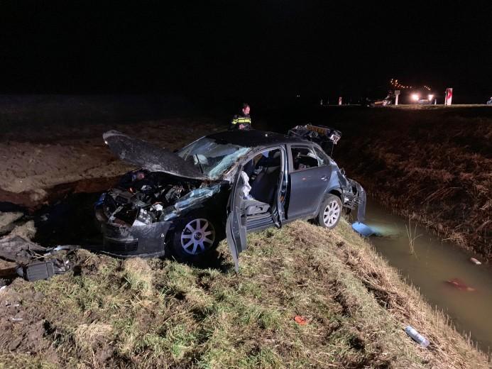 Zwaargewonde bij eenzijdig verkeersongeval Zierikzee