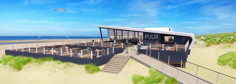 Strandpaviljoen Puur deze zomer weer open