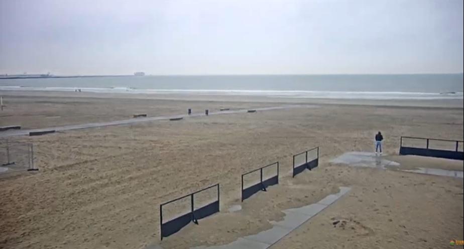 Het strandweer voor donderdag 9 januari