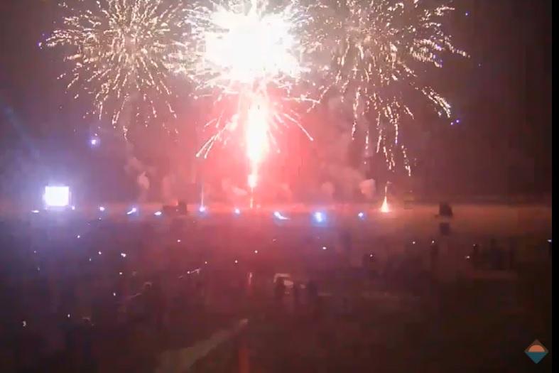 Geen vuurwerkshow tijdens jaarwisseling op Hoekse strand