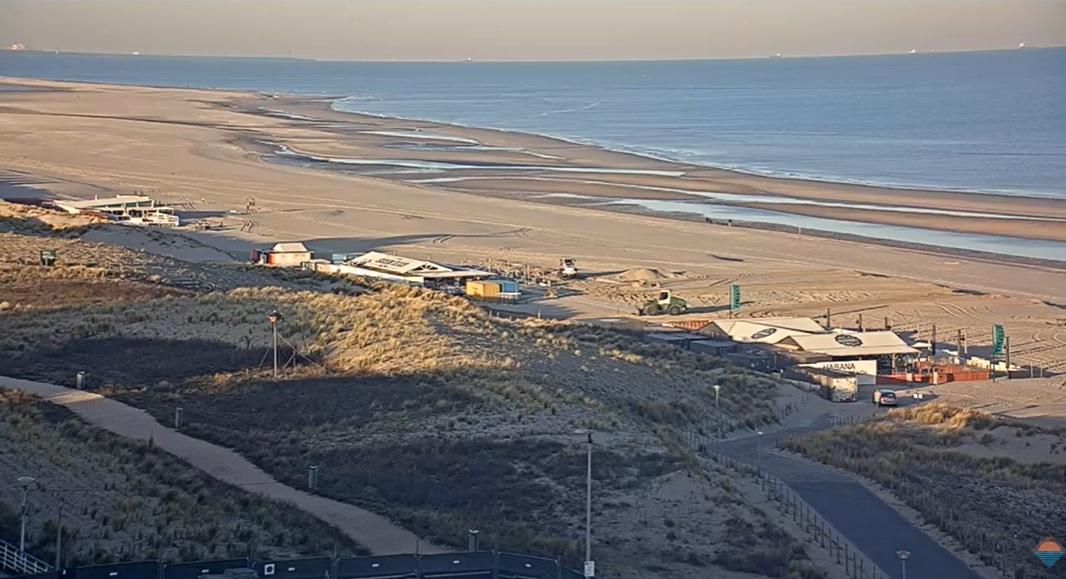 Het strandweer voor dinsdag 24 maart