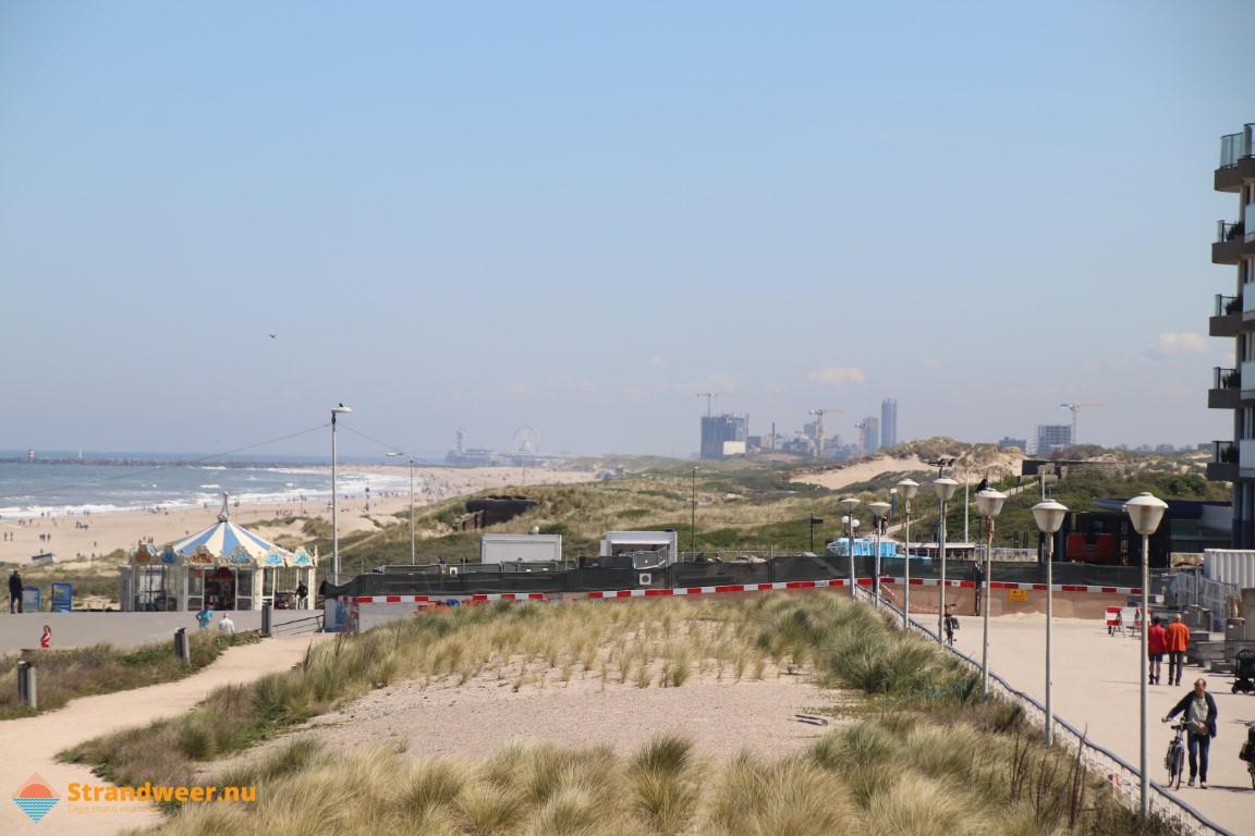 Koud strandweer voor laatste weekend november