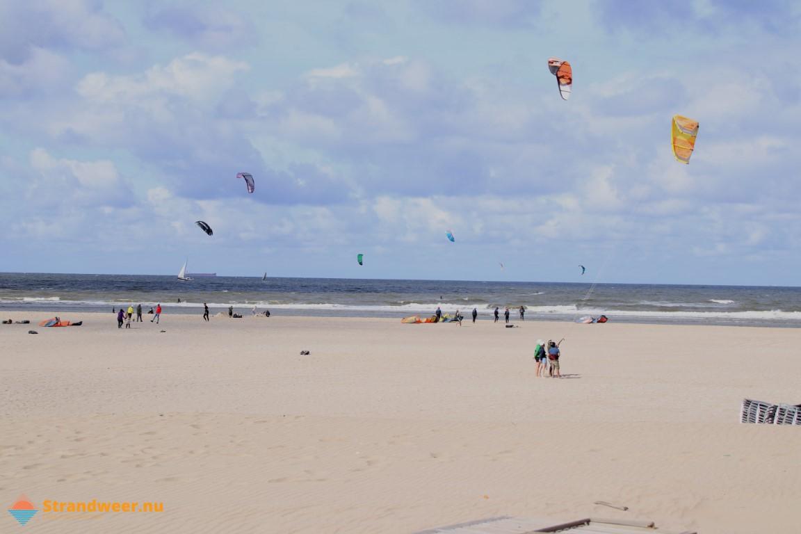Het strandweer voor zondag 27 september