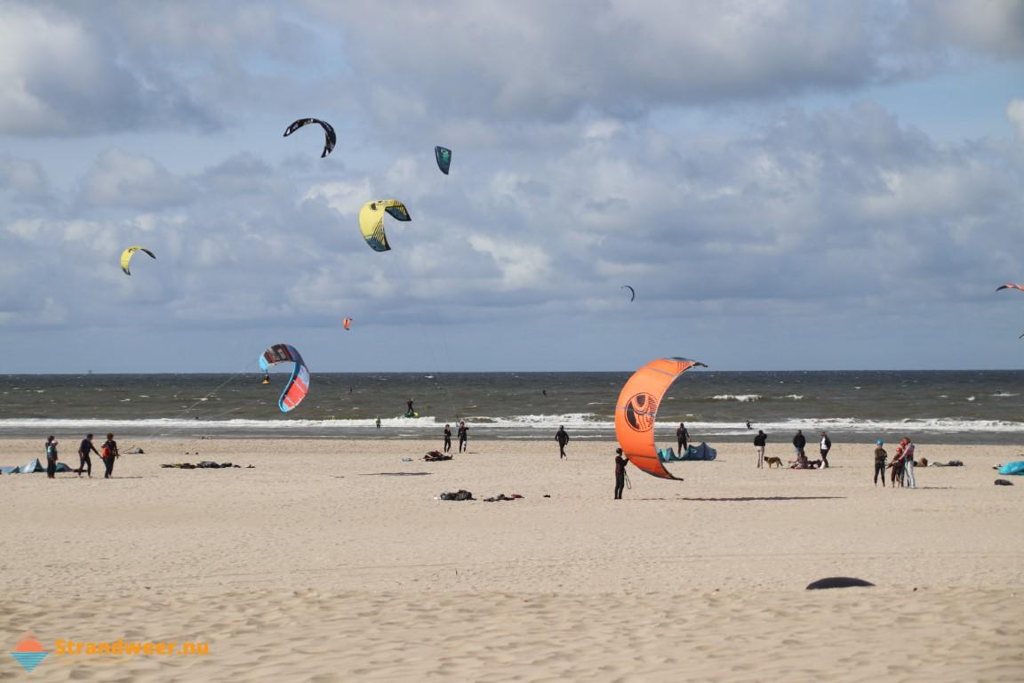 Het strandweer voor het 3e weekend van september