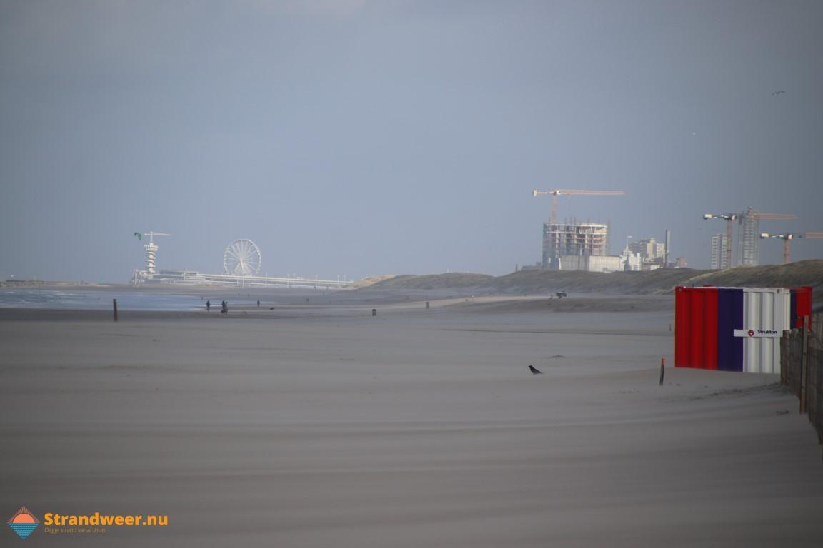 Het strandweer voor de laatste dag van januari