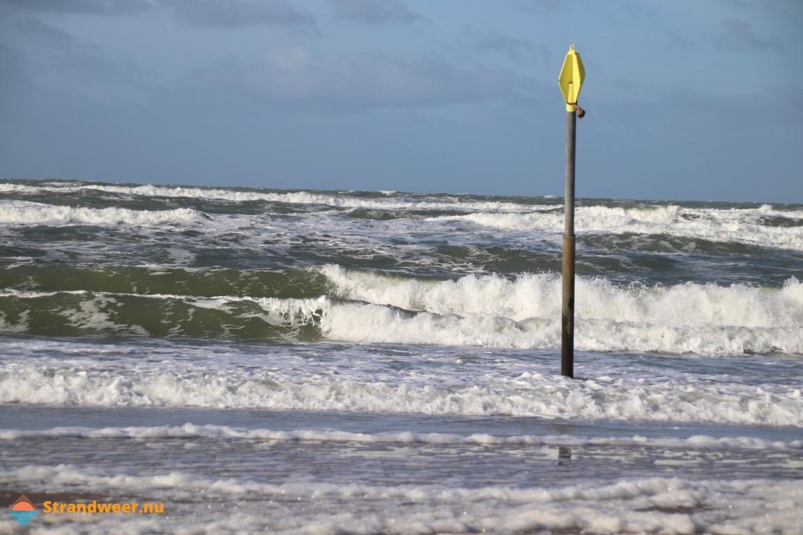 Het strandweer voor tweede paasdag