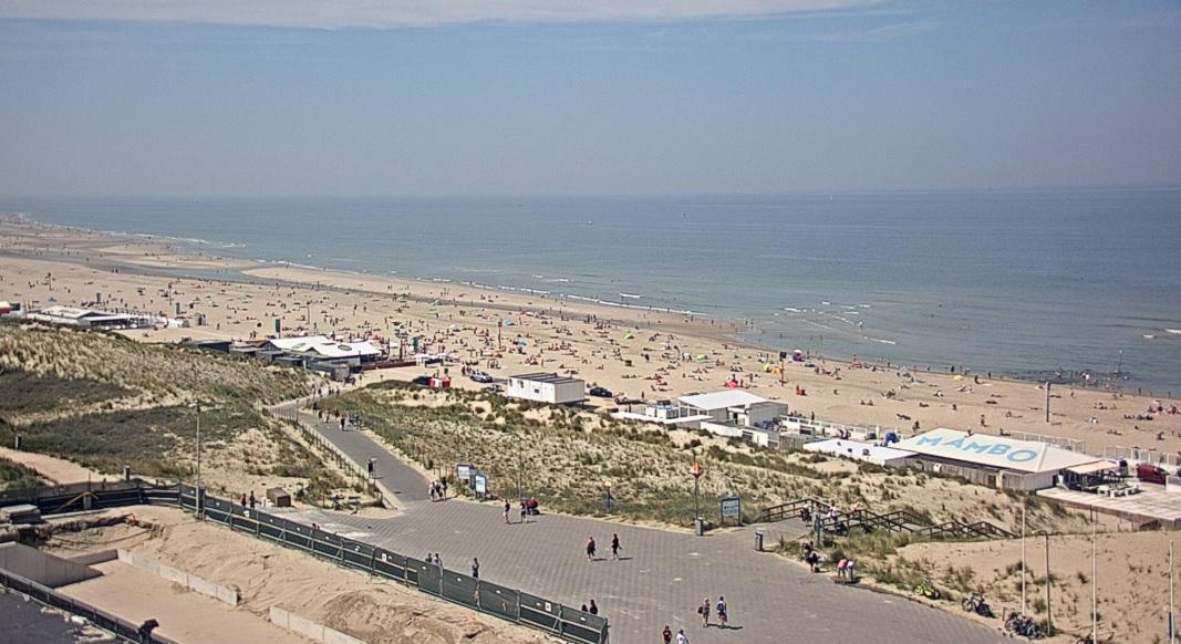 Sterke UV straling tijdens zomerse stranddagen