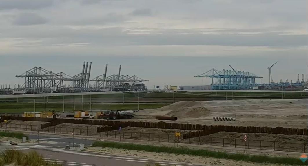Webcam Maasvlakte doet het weer