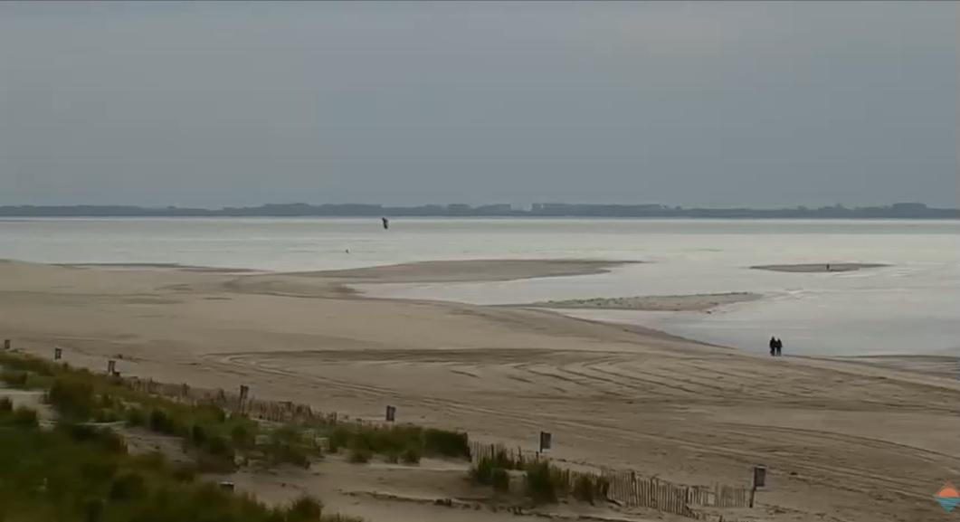 Het strandweer voor het 1e weekend van oktober