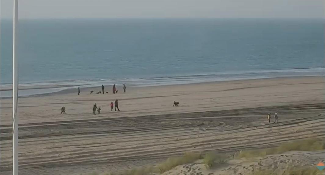 Het strandweer voor maandag 9 november