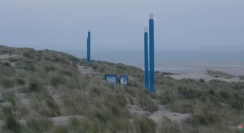 Het strandweer voor woensdag 9 december