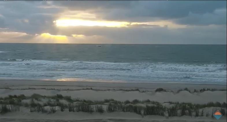 Het strandweer voor dinsdag 17 november
