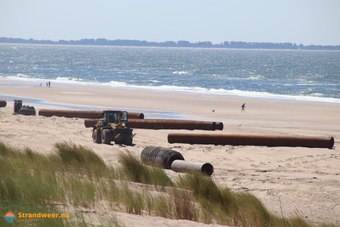 Maasvlaktestrand begin september deels afgesloten