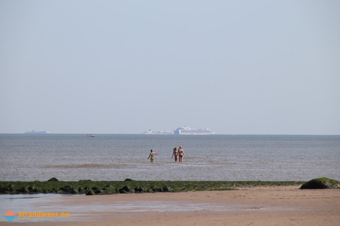 Het strandweer voor woensdag 29 juli